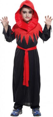 Uhyggelig munk børnekostume 205x450 - Munke kostume til børn