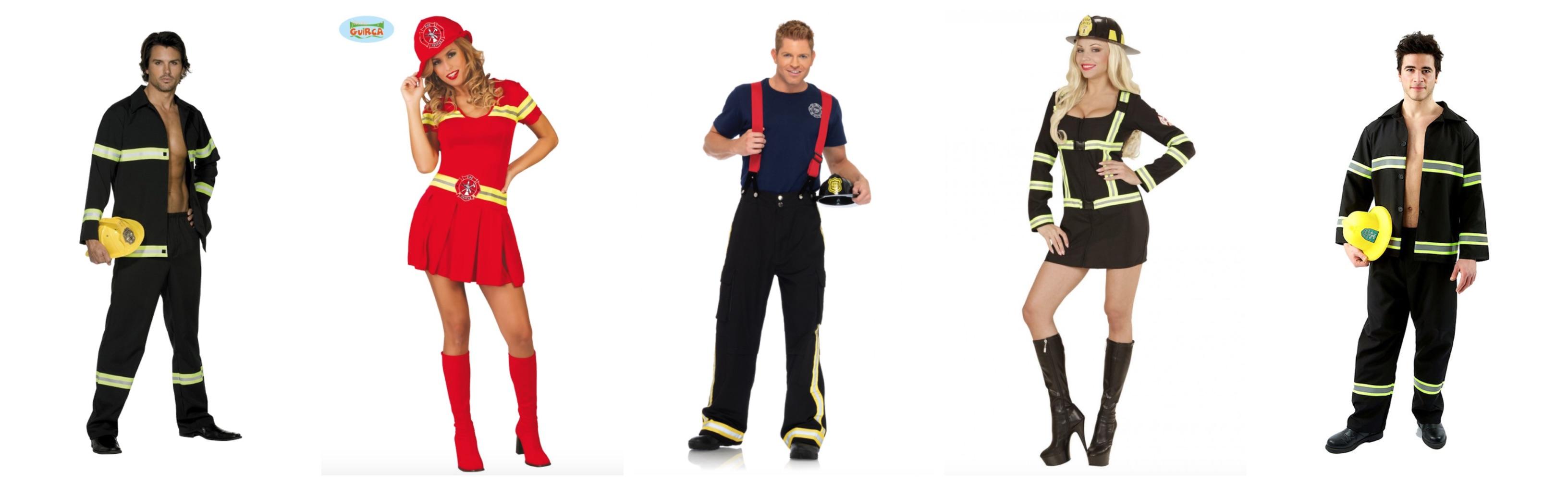 brandmand kostume til voksne - Brandmand kostume til voksne