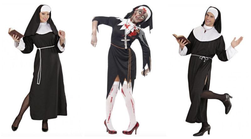 nonne kostume til voksne, nonne kostumer til voksne, nonne udklædning til voksne, nonne kostume til damer, nonne kostumer til kvinder, nonne kostume til mænd, nonne kostumer, zombie nonne kostume, zombie nonne udklædning, religiøse kostumer, religiøs udklædning, halloween kostume, halloween udklædning, fastelavn kostumer til voksne, fastelavn udklædning til voksne, kostumer til alle, kostumer til hele familien, zombie kostumer