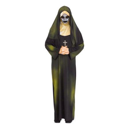 halloween nonne kostume spøgelsesnonne kostume
