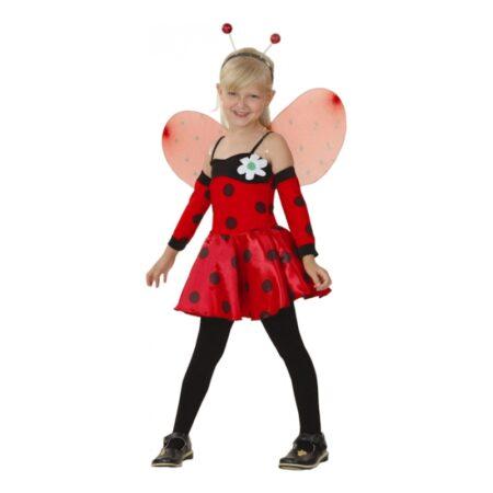 mariehøne børnekostume insekt kostume til børn 450x450 - Mariehøne kostume til børn