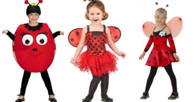 mariehøne kostume til børn mariehønekostume mariehøne udklædning