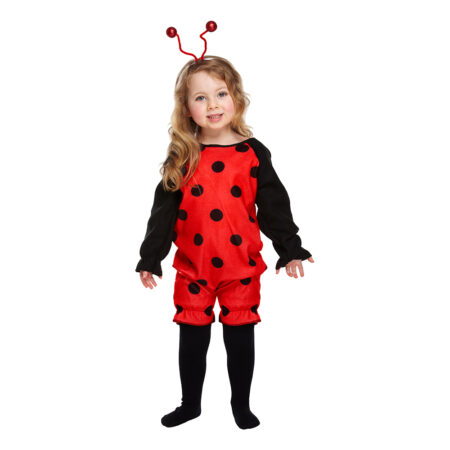 mariehøne kostume til børn fastelavnskostume til 3 årig 2 årig 4 årig