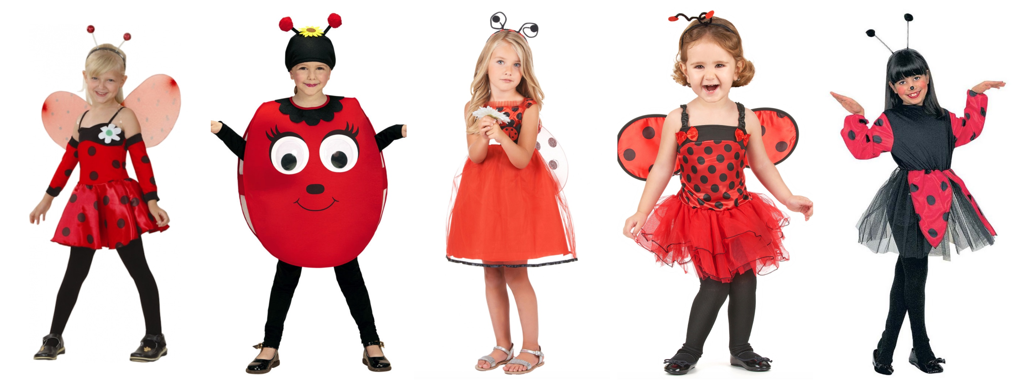 mariehøne kostume til børn - Mariehøne kostume til børn