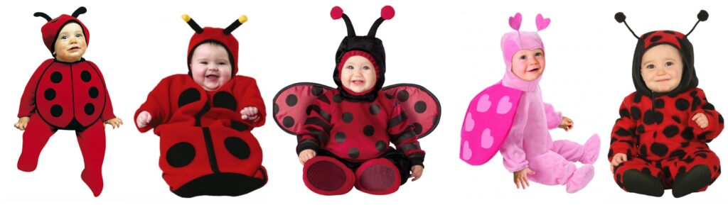 mariehøne kostume til baby 1024x289 - Mariehøne kostume til de mindste