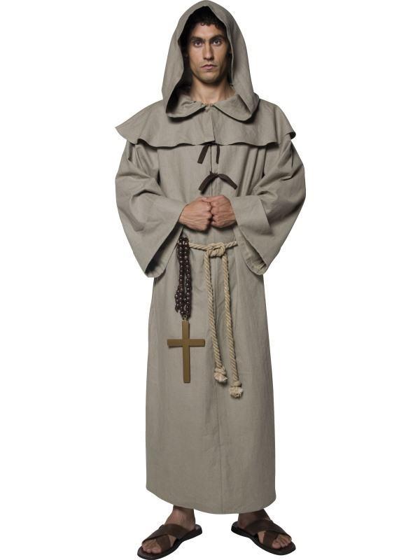 munke kostume til voksne munkekostume til voksne nemt kostume til voksne billigt kostume til voksne kostumeuniverset engelsk munk kostume til voksne munk delux kostume munkeudklædning