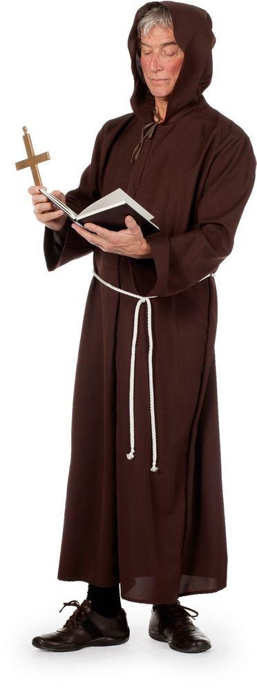 munke kostume til voksne munkekostume til voksne nemt kostume til voksne billigt kostume til voksne kostumeuniverset munkekostume delux