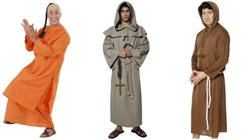 munkekostume munke kostume munk udklædning
