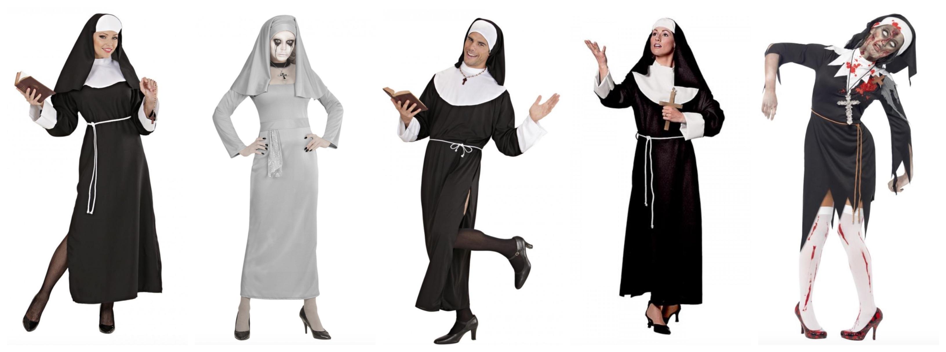 nonne kostume til voksne - Nonne kostume til voksne