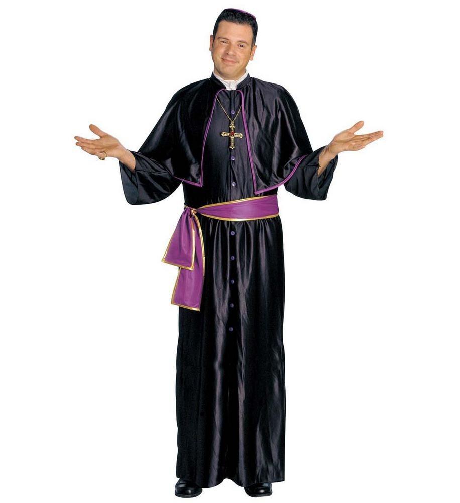 præstekostume præst kostume til voksne præst udklædning biskop kostume til voksne