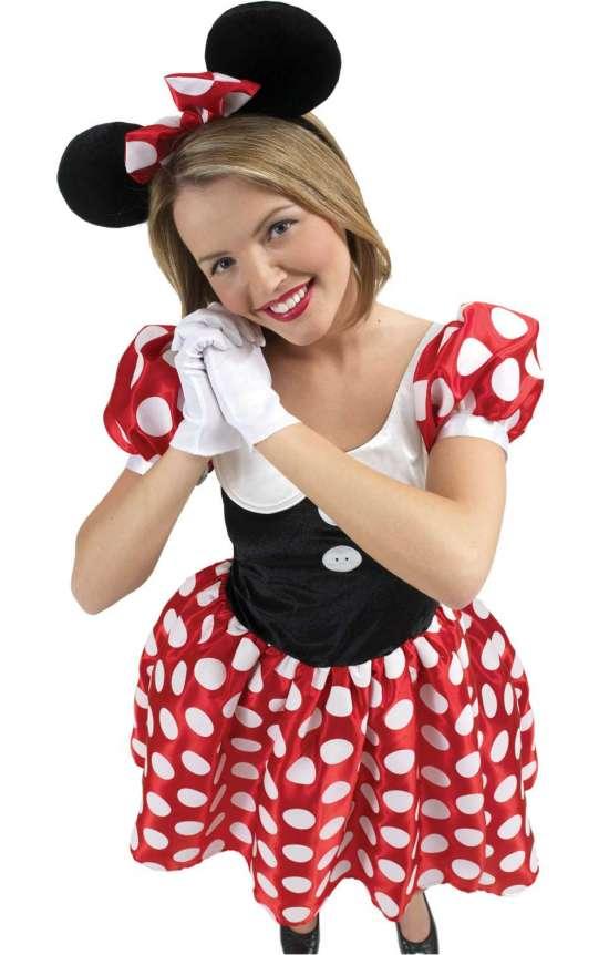 Minnie Mouse kostume - Minnie Mouse kostume til voksne