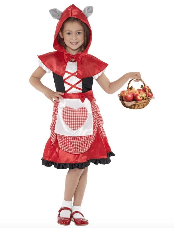 rødhætte-kostume-til-børn - KostumeUniverset