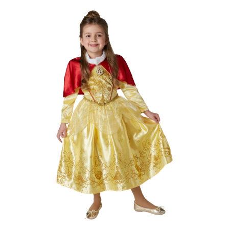 belle vinterkjole belle fastelavnskostume varm belle kjole belle kjole med ærmer