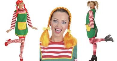 pippi langstrømpe kostume til voksne, pippi langstrømpe udklædning til voksne, pippi langstrømpe tøj til voksne, pippi langstrømpe paryk, pippi langstrømpe kostumer, pippi kostumer til voksne, kostume til sidste skoledag, kostumeuniverset