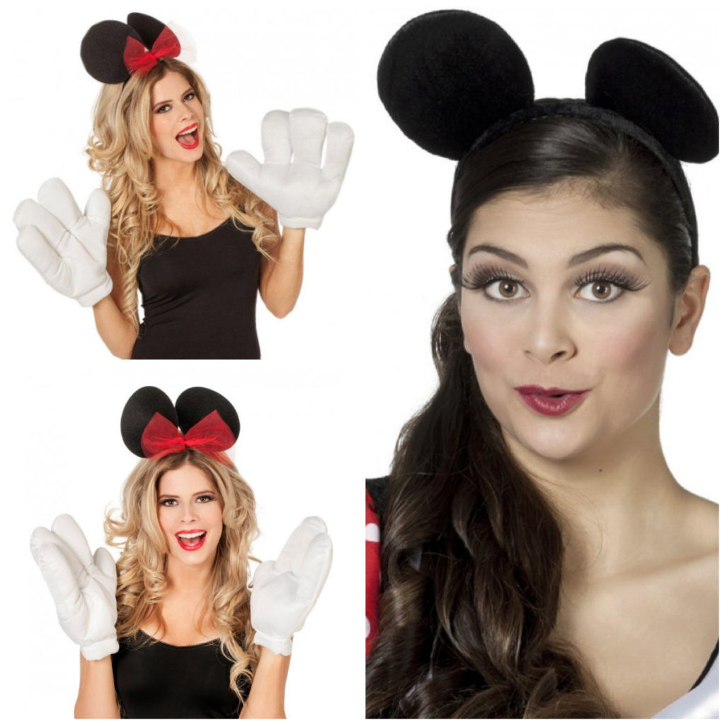 collage 5 1024x1024 - Minnie Mouse kostume til voksne