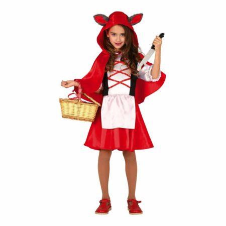 halloween rødhætte kostume til børn eventyrligt halloween kostume rødt kostume til piger