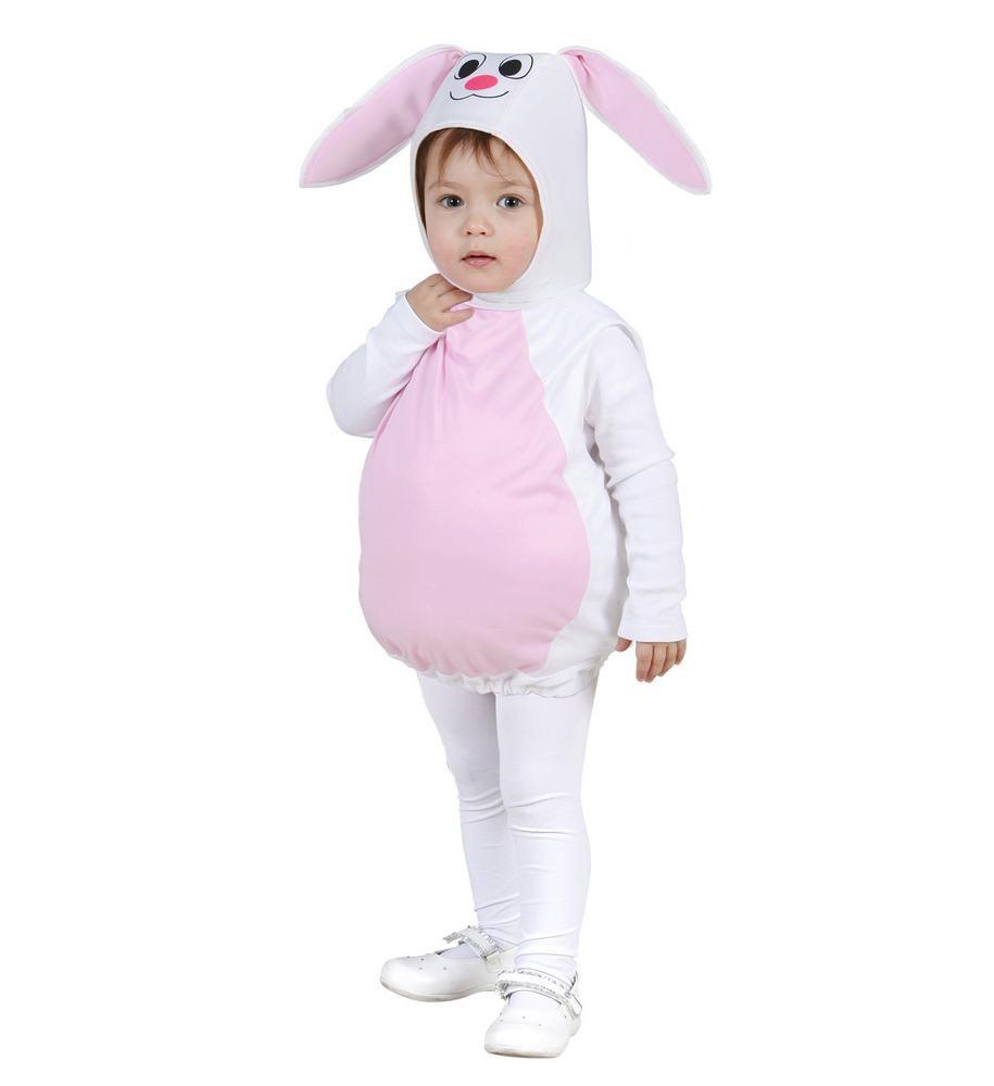 kanin kostume til børn kanin kostume til baby babykostume plyskanin gaveinspiration fastelavnskostume til 2 årig