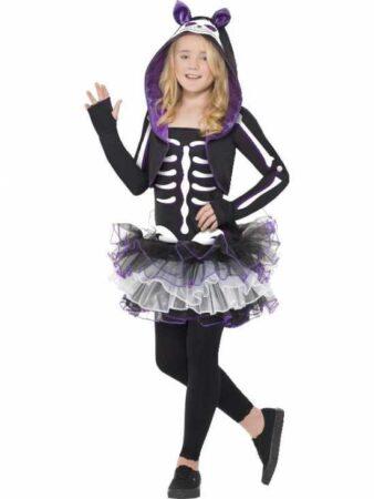 kat skelet kostume til børn 338x450 - Katte kostume til børn