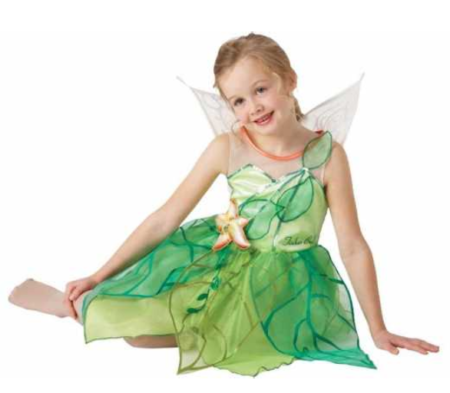 klokkeblomst skovfe tinkerbell kostume til piger