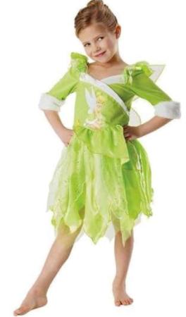 klokkeblomst udklædning skovfe kostume grønt kostume til piger
