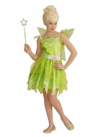klokkeblomst udklædning tinkerbell børnekostume