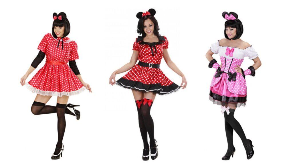 minnie kostume til voksne disney kostume til voksne rødt kostume til voksne minnie mouse kostume dame