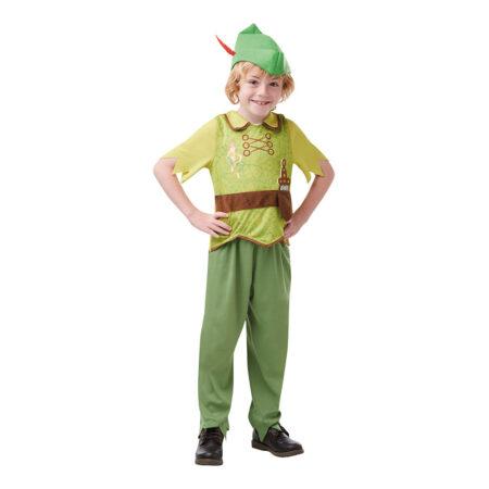 peter pan kostume til børn peter pan børnekostume peter pan udklædning