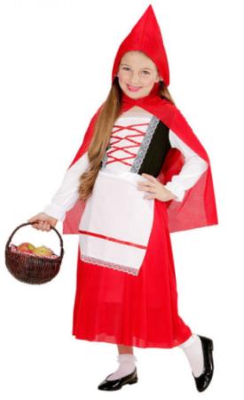 rødhætte kostume 2 år kostume til 2 årig rødhætte med lang kjole
