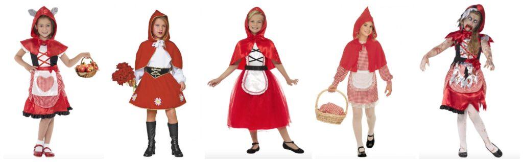 rødhætte kostume til børn 1024x317 - Rødhætte kostume til børn
