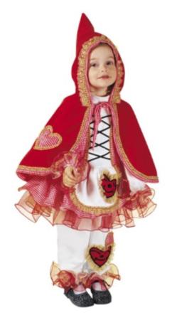 rødhætte kostume til piger rødhætte udklædning rødhætte fastelavnskostume eventyr udklædning