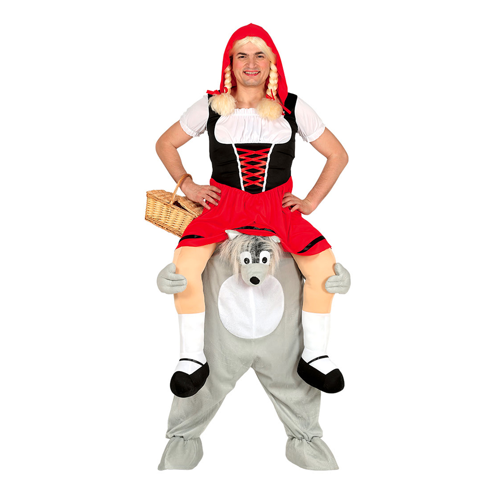 rødhætte og ulven kostume - KostumeUniverset