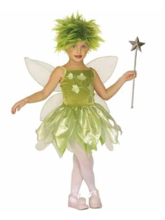 skovfe kostume til piger klokkeblomst børnekostume