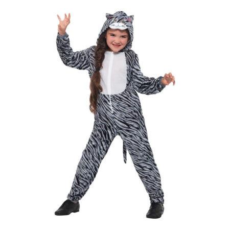 stribet kattekostumet 450x450 - Katte kostume til børn