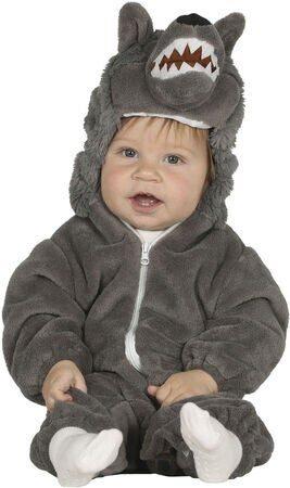 ulv kostume til baby ulv babykostume ulv udklædning til baby