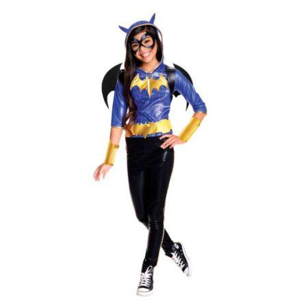 Batgirl Deluxe udklædning 450x450 - Batman kostume til børn