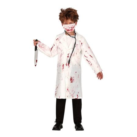 Blodig læge børnekostume 450x450 - Dyrlæge og læge kostume til børn