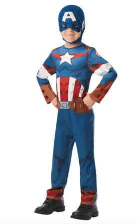 Captain america børnekostume 275x450 - Captain America kostume til børn