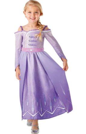 Frost 2 Elsa lilla kjole 287x450 - Populære fastelavnskostumer til piger 2021