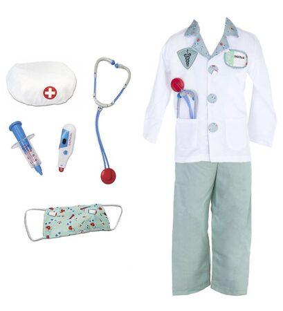 Great Pretenders doktor udklædning til børn 409x450 - Dyrlæge og læge kostume til børn