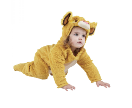 Løvernes Konge Simba Børnekostume 450x369 - Løve kostume til baby