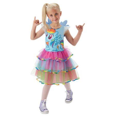 My Little Pony Rainbow dash kostume til børn 450x450 - My little pony kostume til børn