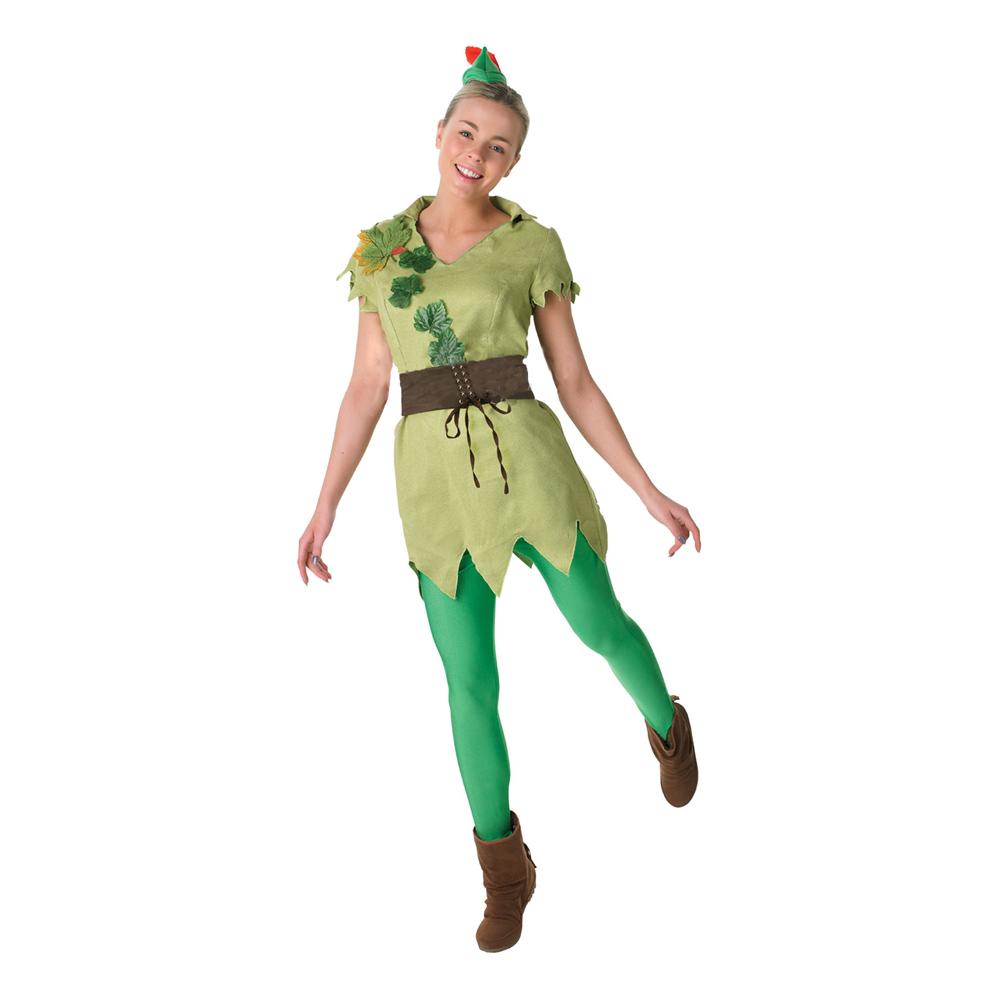 Peter pan damekostume - Peter Pan kostume til voksne