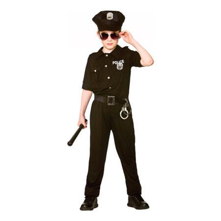 Politi børnekostume 450x450 - Politimand kostume til børn