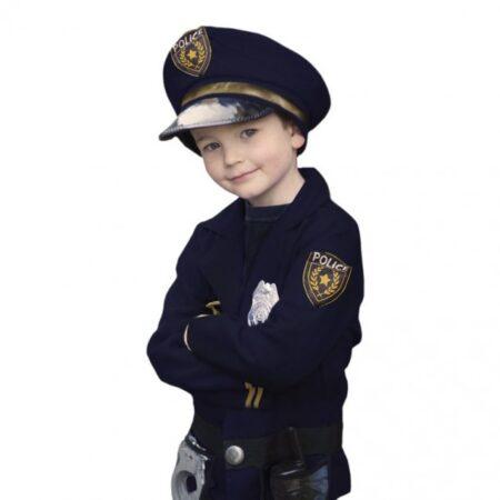 Politi kostume til børb 450x450 - Politimand kostume til børn