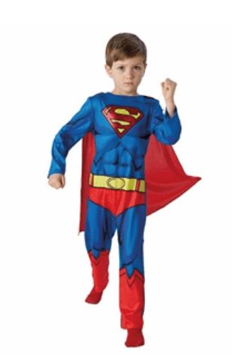 Skærmbillede 2018 01 15 kl. 15.53.19 - Superman kostume til børn