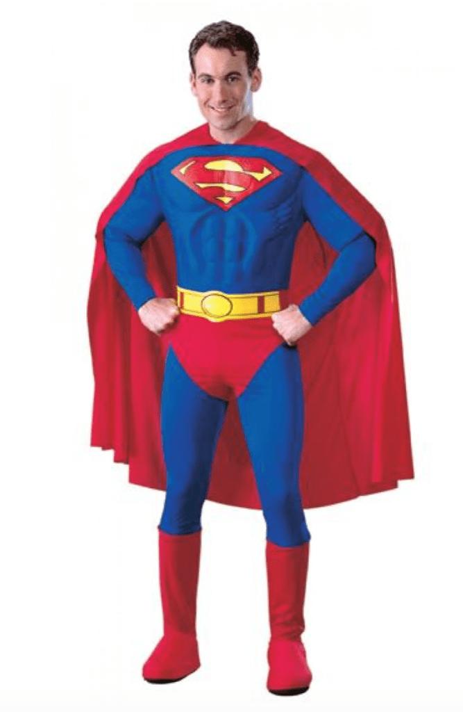 Skærmbillede 2018 01 15 kl. 16.22.32 667x1024 - Superman kostume til voksne