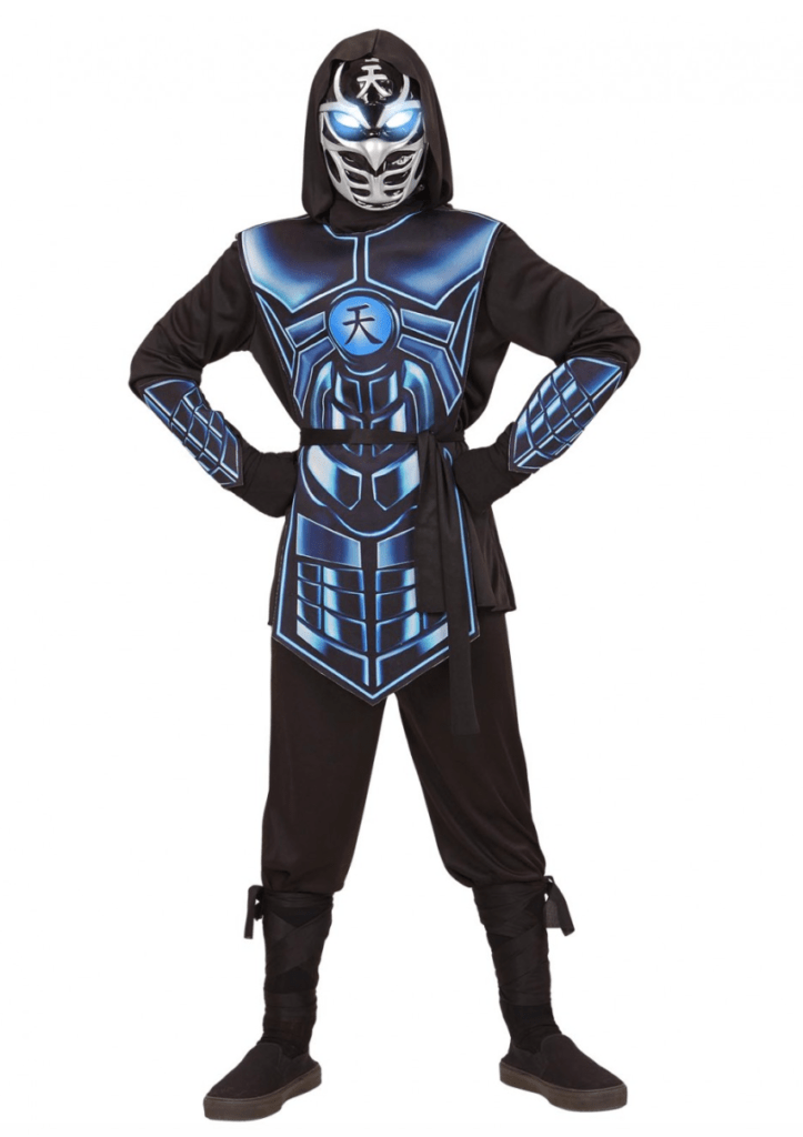 Skærmbillede 2018 01 21 kl. 20.45.55 723x1024 - Ninja kostume til børn