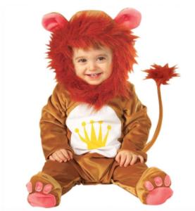 Løve kostume til baby