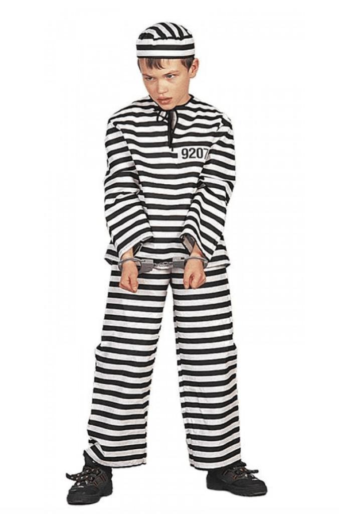 Skærmbillede 2018 01 30 kl. 00.31.12 676x1024 - Fange kostume til børn