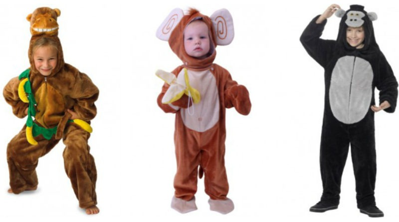 abe kostume abekostume til børn abe kostume til børn fastelavnskostume